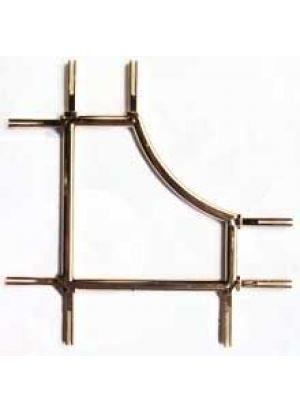 Бергамо золото 8 мм (105*105 мм) стеклопакеты, стеклопакеты