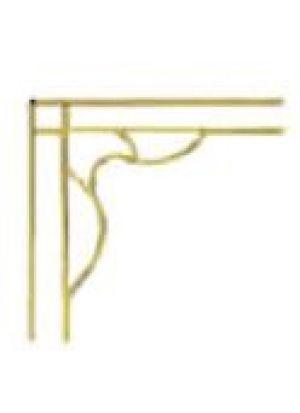 Виценза золото 8 мм (180*235 мм) стекло, стеклопакеты