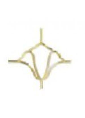 Сицилия золото 8 мм (175*140 мм) стекло, стекло